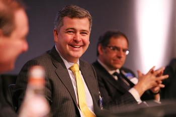 SEC Commissioner Dan Gallagher speaking at the Finance Dublin Global Financial Services Centres Conference in 2010