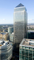The European Banking Authority is to move from its London base in Canary Wharf (above) after Brexit.