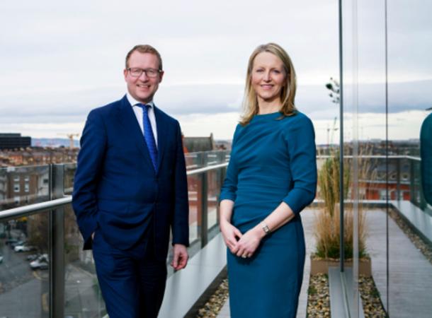 Arthur Cox outgoing Chairperson Ciarán Bolger:
