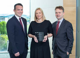 Trevor Manning; Associate Director, Bank of Ireland Corporate Banking, Teresa Kelleher; Senior Group Treasury Manager, Musgraves, Gerry Gillespie; Senior Manager, Bank of Ireland Corporate Banking