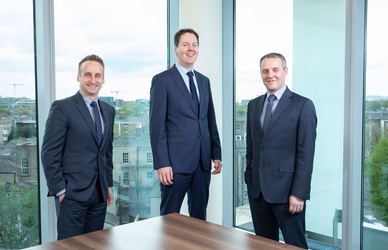 [L-R] Russell Williamson, Associate Director, Bank of Ireland Corporate Banking; Joe McNabb, Group Head of Business Planning & Treasury, IPL Plastics Plc; Gareth Magee, Director, Bank of Ireland Corporate Banking